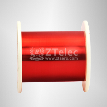 Polyamide imide enamelled round copper wire