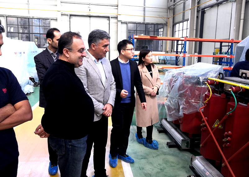 Customers from Iran Choose Dry Type Transformer