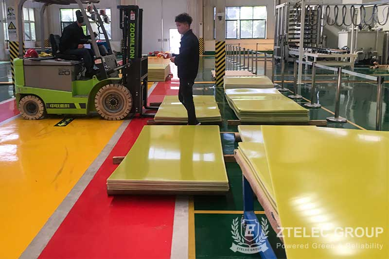 High temperature resistant epoxy sheet